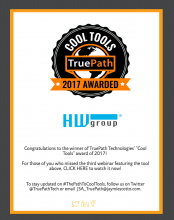 HWg wins TruePath Cool Tools Award 2017